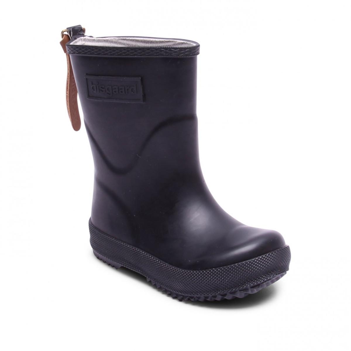 1df7534b079 Bisgaard gummistøvler, sort bred model