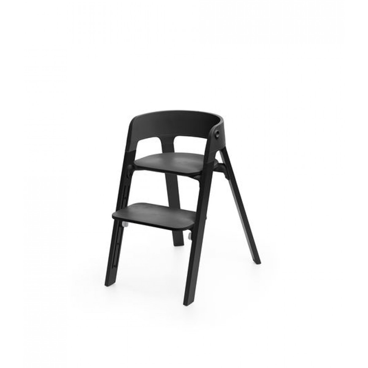 Steps Chair Oak Black black oak